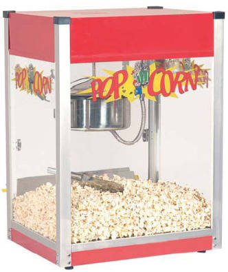 Large Industrial Popcorn Machine - Ideal For Funct